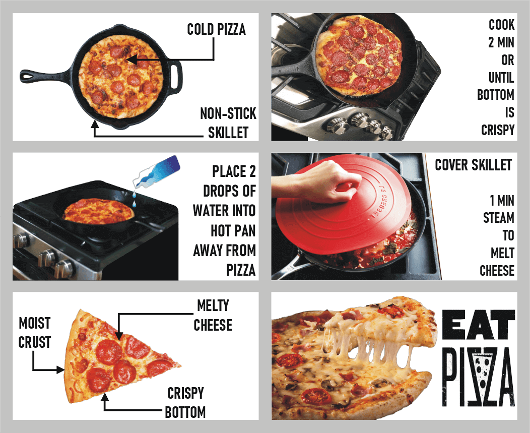 reheat-pizza-in-pan-infographics