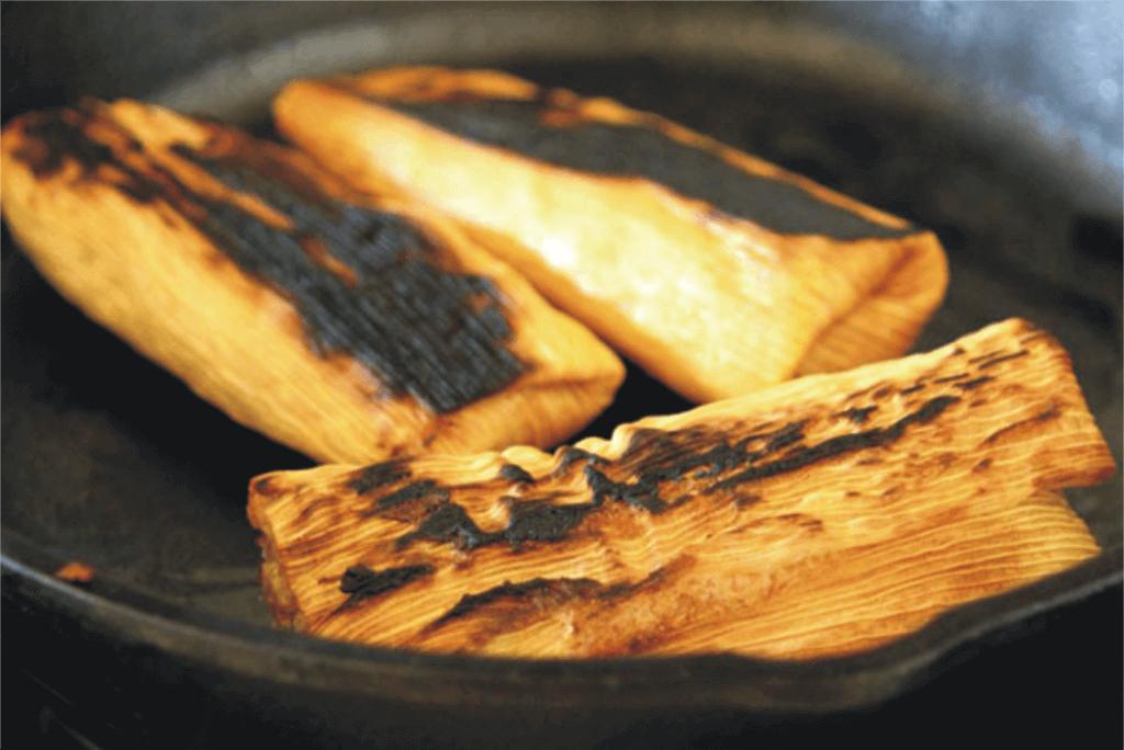 tamales-in-skillet