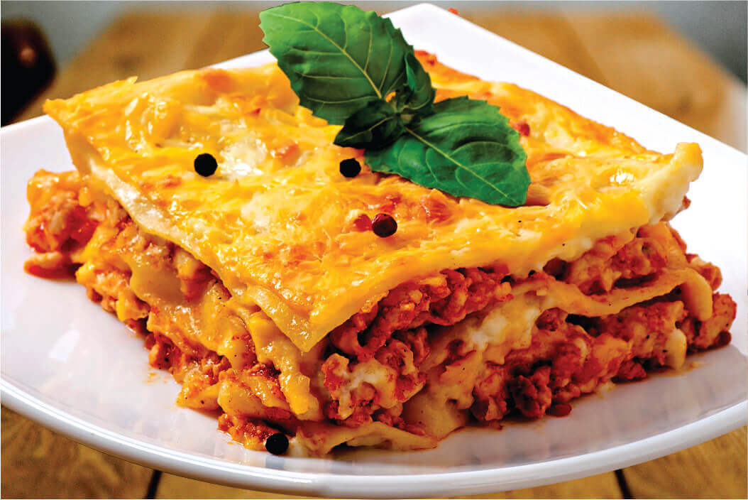 Reheating Lasagna